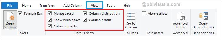 Enable Data profiling