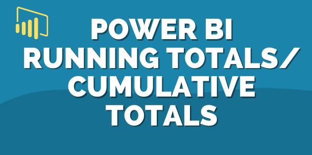 Power BI Running Total